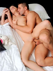 Nubiles.net Annmarie Lesante - Playful teen Annmarie Lesante gets her pussy banged and jizzed on by a stud