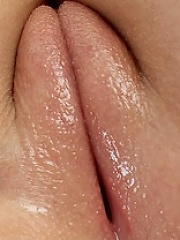 Very cute babe playing with clit